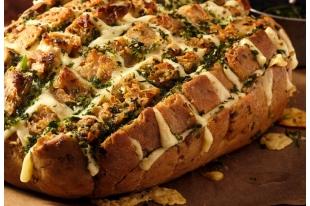 Pain farci aux herbes et fromages