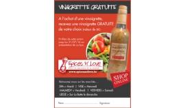 C'est à partir de ce mardi dans votre Proximag!!!! Un bon pour une vinaigrette achetée, une GRATUITE au choix...