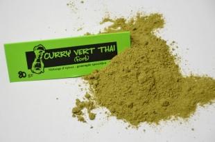 Curry vert thaï fort