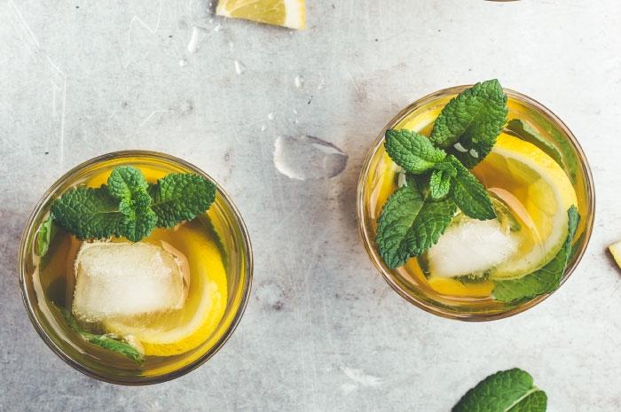 Recette du thé vert glacé