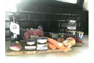 Notre Tajine de kefta et légumes